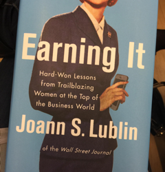 Earning it: Lessons from Joann S. Lublin and female business trailblazers