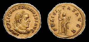 Felicitas Augusta coins