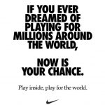 Nike Ad on staying home during COVID-19