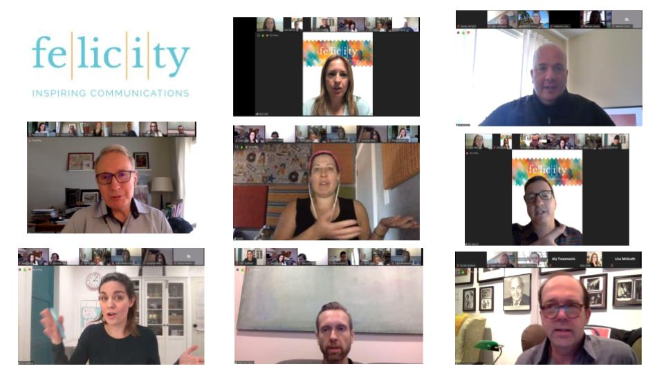Felicity Screen Side Chat- April 2- Speakers